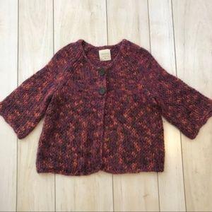 Relativity Bell Sleeve Knit Cardigan Sweater